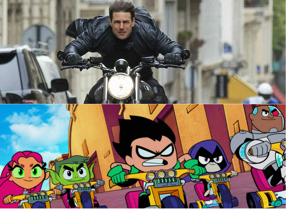 Pop Pop Culture_Mission Impossible Fallout and Teen Titans Go To The Movies Revew