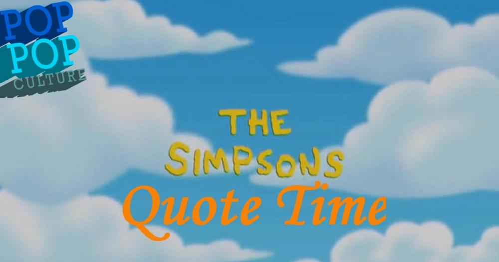 Simpsons Quote Time